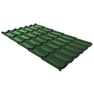metallocherepica ruukki monterrey standard poliestr temno zeleny rr11 400x400 - Металлочерепица Ruukki, Monterrey Standard Polyestr — Темно-зеленый (RR 11)