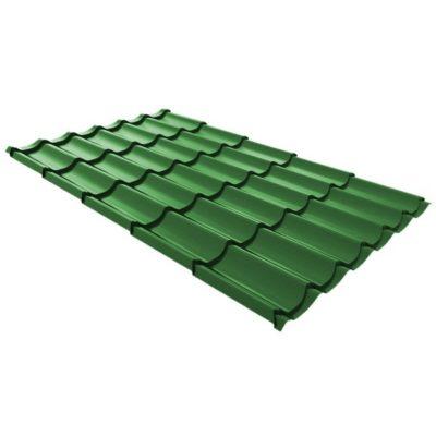 metallocherepica ruukki monterrey standard poliestr zeleny rr35 400x400 - Металлочерепица Ruukki, Monterrey Standard Polyestr — Зеленый (RR 37)