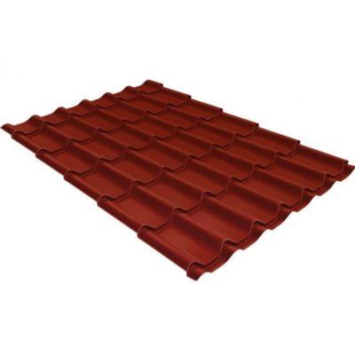 metallocherepitsa klassik 0 5 satin ral 3009 400x400 - Металлочерепица Grand Line сталь 0,5мм покрытие Satin RAL 3009 оксидно-красный