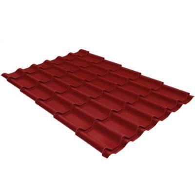 metallocherepitsa klassik 0 5 satin ral 3011 400x400 - Металлочерепица Grand Line сталь 0,5мм покрытие Satin RAL 3011 коричнево-красный