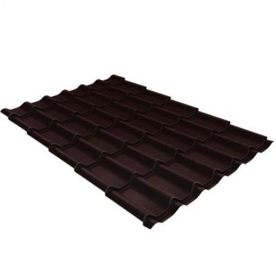 metallocherepitsa klassik 0 5 satin ral 8017 400x400 - Металлочерепица Grand Line сталь 0,5мм покрытие Satin RAL 8017 шоколад