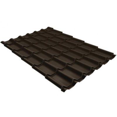metallocherepitsa klassik 0 5 satin rr 32 400x400 - Металлочерепица Grand Line сталь 0,5мм покрытие Satin RR 32 темно-коричневый