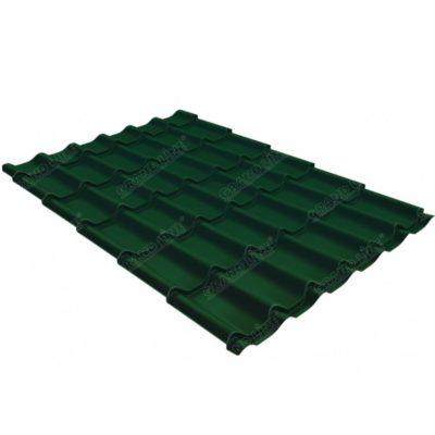 metallocherepitsa klassik gl 0 5 ral 6005 400x400 - Металлочерепица Grand Line сталь 0,5мм покрытие Satin RAL 6005 зеленый мох