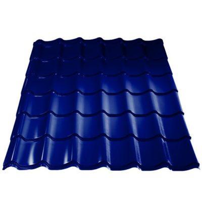 metallprofil metallocherepica colrcoat prisma 5002 400x400 - Металлочерепица Металл Профиль, покрытие Colorcoat Prisma - 5002