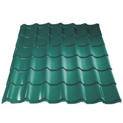 metallprofil metallocherepica colrcoat prisma 5021 400x400 - Металлочерепица Металл Профиль, покрытие Colorcoat Prisma - 5021