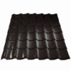 metallprofil metallocherepica plastizol 8019 100x100 - Металлочерепица Металл Профиль, покрытие Пластизол - 8017