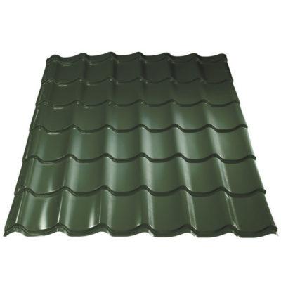metallprofil metallocherepica puretan olivio 400x400 - Металлочерепица Металл Профиль, покрытие Puretan - Olivio