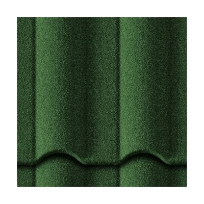 metrotile kompozitnaya cherepica gallo zeleny 400x400 - Композитная черепица Metrotile, коллекция Gallo – Зеленый