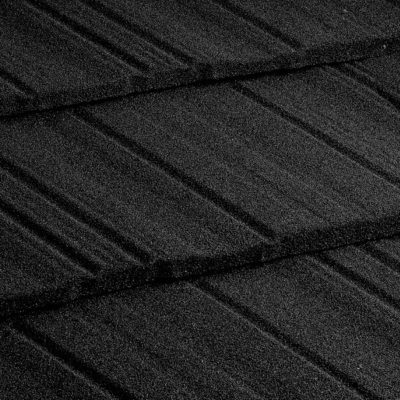 metrotile kompozitnaya cherepica metroshake chorny 400x400 - Композитная черепица Metrotile, коллекция MetroShake – Черный