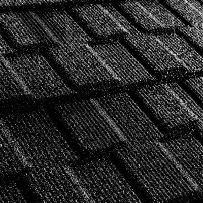 metrotile kompozitnaya cherepica metroviksen cherny 400x400 - Композитная черепица Metrotile, коллекция MetroVisken – Черный