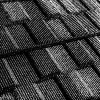 metrotile kompozitnaya cherepica metroviksen rustik 400x400 - Композитная черепица Metrotile, коллекция MetroVisken – Рустик