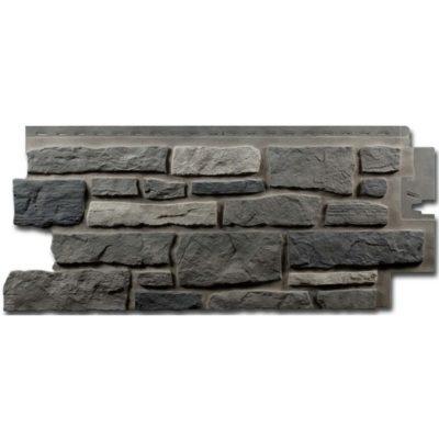 nailite cokol saiding bucks county gray standart 400x400 - Цокольный сайдинг Nailite –  Bucks County Gray (Коричнево-серый)