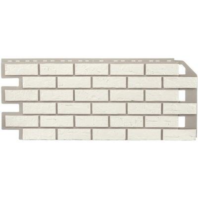 nailite cokol saiding colonial white 400x400 - Цокольный сайдинг Nailite – Colonial White (Белый кирпич)