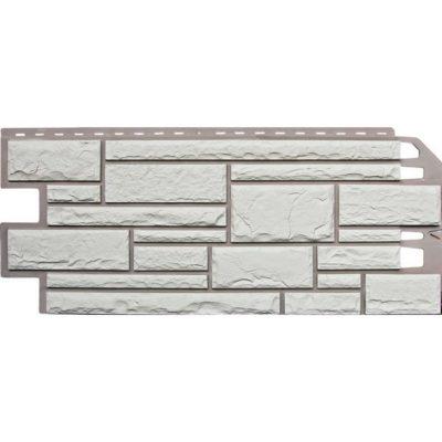 nailite cokol saiding glas white 400x400 - Цокольный сайдинг Nailite – Clacier White (Белый камень)