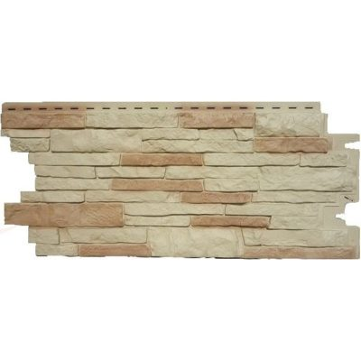 nailite cokol saiding sandstone 400x400 - Цокольный сайдинг Nailite – Sandstone (Песочно-желтый)