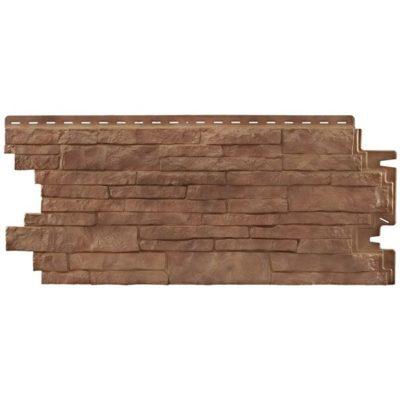 nailite cokol saiding sierra brown 400x400 - Цокольный сайдинг Nailite – Sierra Brown (Коричневый)