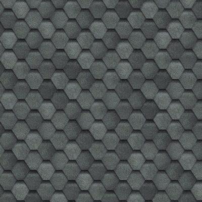 shinglas fin grey 400x400 - Гибкая черепица Shinglas, серия Финская,коллекция Соната – Серый
