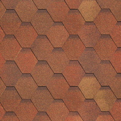 shinglas klassik kardil red brown 400x400 - Гибкая черепица Shinglas, серия Классик, коллекция Кадриль – Яшма