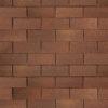 shinglas klassik twist brown 100x100 - Гибкая черепица Shinglas, серия Классик, коллекция Кадриль – Нефрит Зеленый