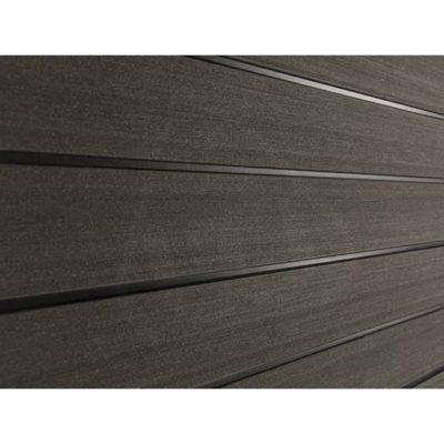 sw agger zaborny profil temno korichnevy 400x400 - Заборный профиль Savewood Agger – Тёмно-коричневый