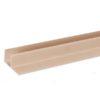 sw f profil bejevy 100x100 - Террасная доска Savewood Salix – Бежевый