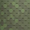 tegola gibkaya cherepica nordland nordik zeleny s otlivom 100x100 - Гибкая черепица Tegola серия Антик – Зеленый с отливом