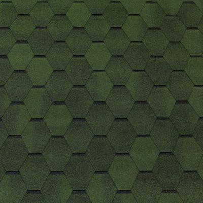 tegola gibkaya cherepica top shingle smalto zeleny 400x400 - Гибкая черепица Tegola серия Смальто – Зеленый