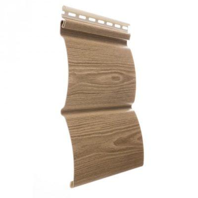 vinilovy siding docke wood slide oreh 1 400x400 - Виниловый сайдинг Docke, профиль Wood Slide – Орех