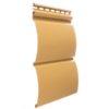 vinilovyj sajding docke profil blokhaus karamel 100x100 - Виниловый сайдинг Holzplast, профиль Корабельный брус – Антик