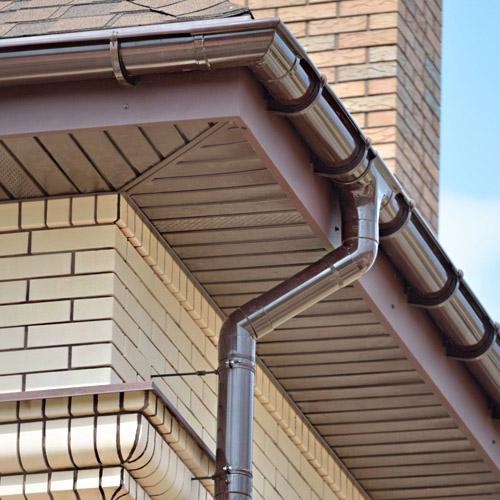 Водостоки для крыш домов