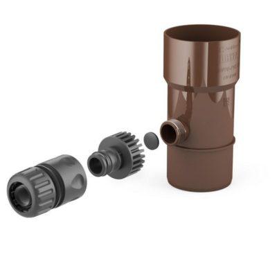 vodostok bryza pvh vodosbornik 150 400x400 - Водосток Bryza, система Макси 150х110 – водосборник