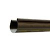 vodostok gamrat pvh jelob 125 100x100 - Водосток ПВХ Gamrat 75х63 – Желоб водосточный 3 метра