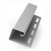 ya fasad j profil 100x100 - Технониколь Hauberk - Металлический уголок внутренний ( под цвет плитки )