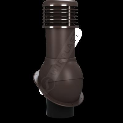 K52 10  seria2 400x400 - K52 Вентиляционный выход NORMAL неутепленный Ø150 мм RAL 8019