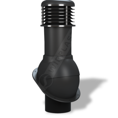 K52 6 seria2 400x400 - K52 Вентиляционный выход NORMAL неутепленный Ø150 мм RAL 9005