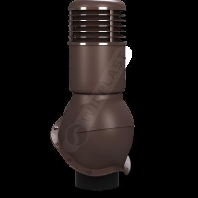 K55 2 seria2 400x400 - K55 Вентиляционный выход PERFEKTA утепленный Ø150 мм RAL 8017