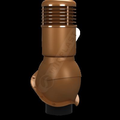 K55 9 seria2 400x400 - K55 Вентиляционный выход PERFEKTA утепленный Ø150 мм RAL 8003