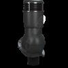 K 49 ral 9005 cher 100x100 - K49 Вентиляционный выход PERFEKTA утепленный Ø110 мм RAL 8004