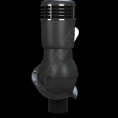 K 49 ral 9005 cher 400x400 - K49 Вентиляционный выход PERFEKTA утепленный Ø110 мм RAL 9005
