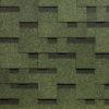 docke gibkaya cherepica tetris zelenij 100x100 - Гибкая черепица Tegola серия Классик – Синий