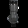 k 49  ral 7021 antrac 100x100 - K49 Вентиляционный выход PERFEKTA утепленный Ø110 мм RAL 3009