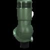 k 49 ral 6020 zel 100x100 - K49 Вентиляционный выход PERFEKTA утепленный Ø110 мм RAL 3009