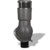 k 49 ral 7024 ser 100x100 - K49 Вентиляционный выход PERFEKTA утепленный Ø110 мм RAL 7021