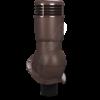 k 49 ral 8017 kor 100x100 - K49 Вентиляционный выход PERFEKTA утепленный Ø110 мм RAL 9005