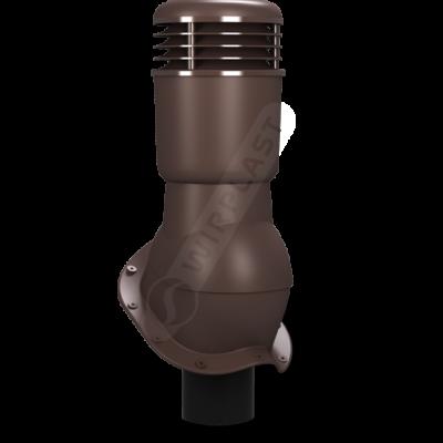 k 49 ral 8017 kor 400x400 - K49 Вентиляционный выход PERFEKTA утепленный Ø110 мм RAL 8017