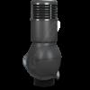 k 55 antracytowy final 100x100 - K49 Вентиляционный выход PERFEKTA утепленный Ø110 мм RAL 8019