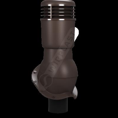 wirplast k49 ventilyatsionnyy vykhod perfekta uteplennyy 110 mm 400x400 - K49 Вентиляционный выход PERFEKTA утепленный Ø110 мм RAL 8019