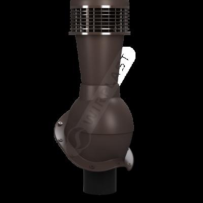 K50 10 seria2 400x400 - K50 Вентиляционный выход PERFEKTA с вентилятором Ø110 мм RAL 8019