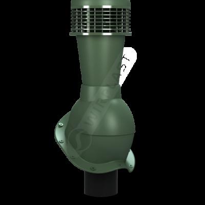 K50 5 seria2 400x400 - K50 Вентиляционный выход PERFEKTA с вентилятором Ø110 мм RAL 6020
