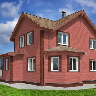gladkij kirpich 14 400x400 - Гладкий кирпич Каньон 14-12, цена за кв.м
